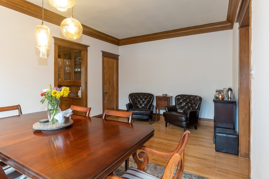 Real Estate Photography - 932 W Margate Ter, Unit 3W, Chicago, IL, 60640 - Dining Room