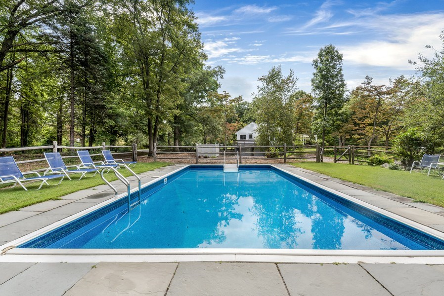 Real Estate Photography - 965 Old Albany Post Rd., Garrison, NY, 10524 - Pool