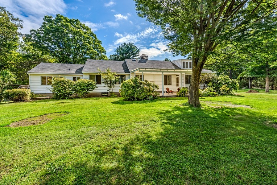 Real Estate Photography - 965 Old Albany Post Rd., Garrison, NY, 10524 - Rear View