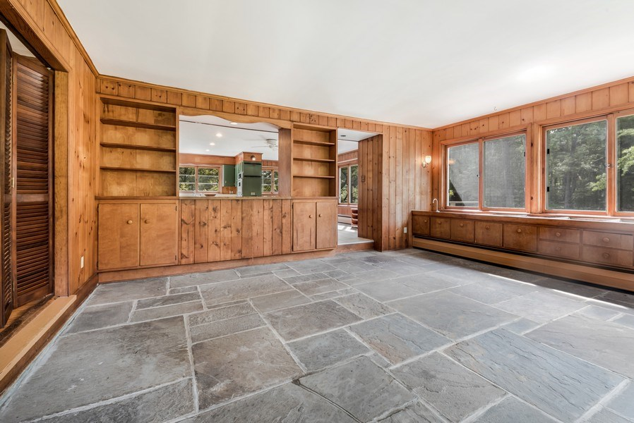 Real Estate Photography - 965 Old Albany Post Rd., Garrison, NY, 10524 - Family Room / Kitchen
