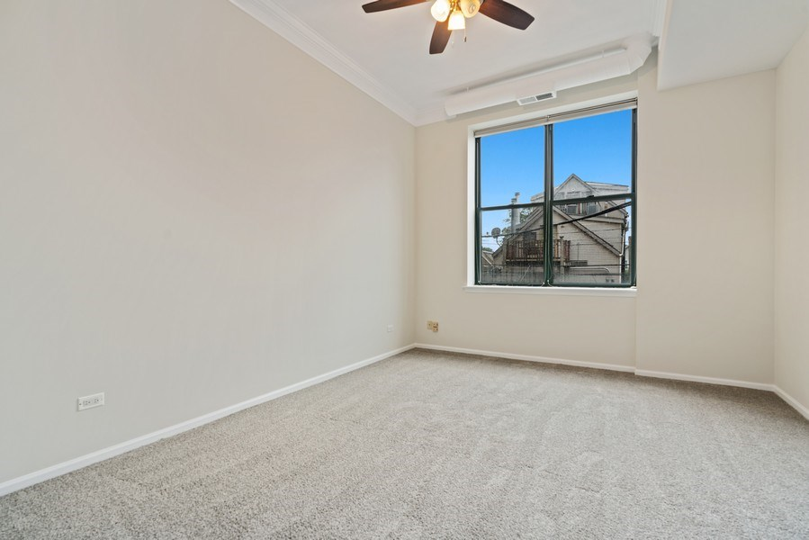 Real Estate Photography - 2512 N. Bosworth, #203, Chicago, IL, 60614 - Bedroom