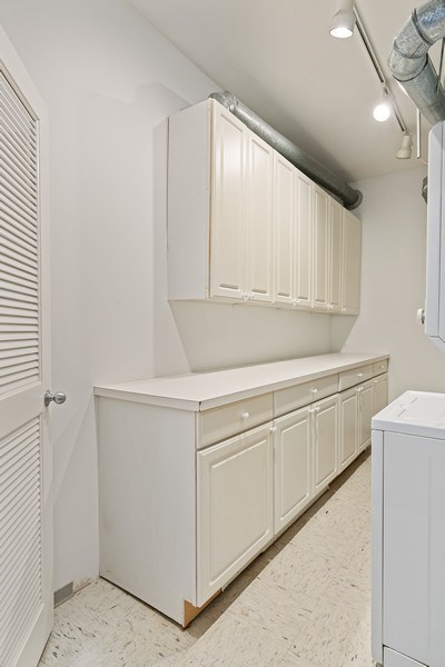Real Estate Photography - 2512 N. Bosworth, #203, Chicago, IL, 60614 - Laundry Room