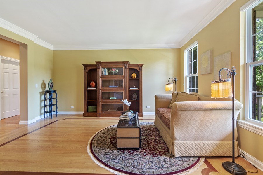 Real Estate Photography - 1588 Independance Ave, Glenview, IL, 60026 - Living Room