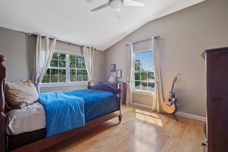 Real Estate Photography - 1588 Independance Ave, Glenview, IL, 60026 - 3rd Bedroom