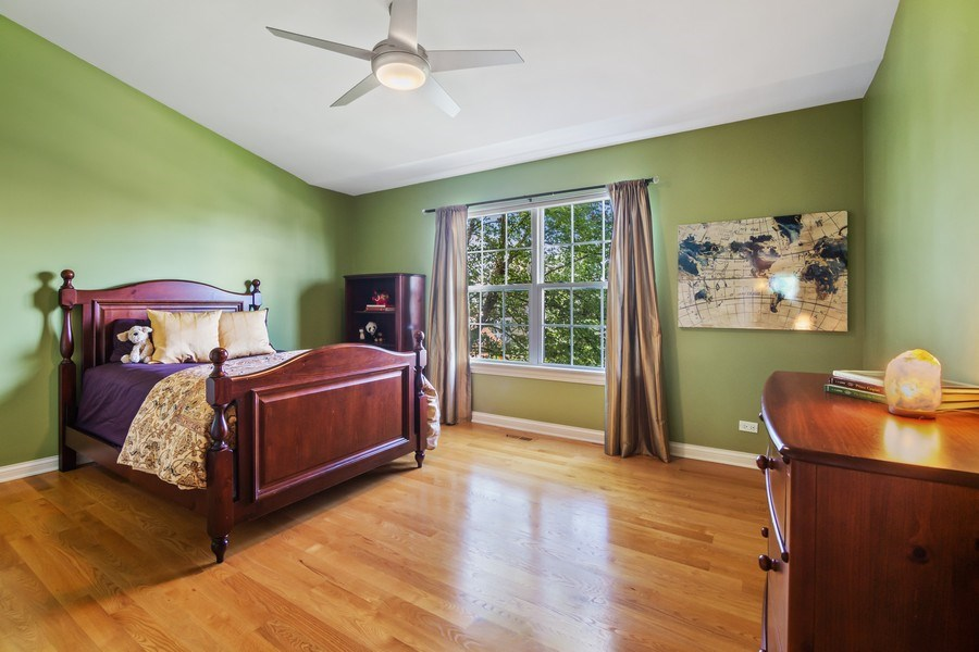 Real Estate Photography - 1588 Independance Ave, Glenview, IL, 60026 - 4th Bedroom