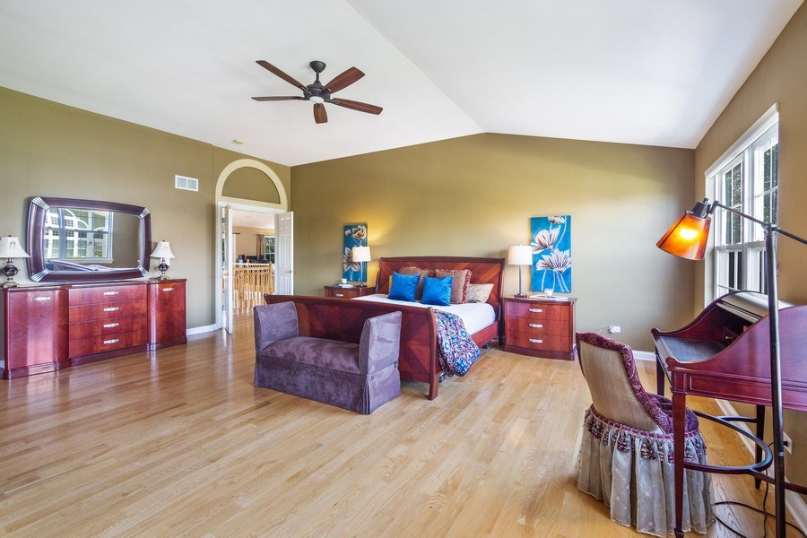 Real Estate Photography - 1588 Independance Ave, Glenview, IL, 60026 - Master Bedroom
