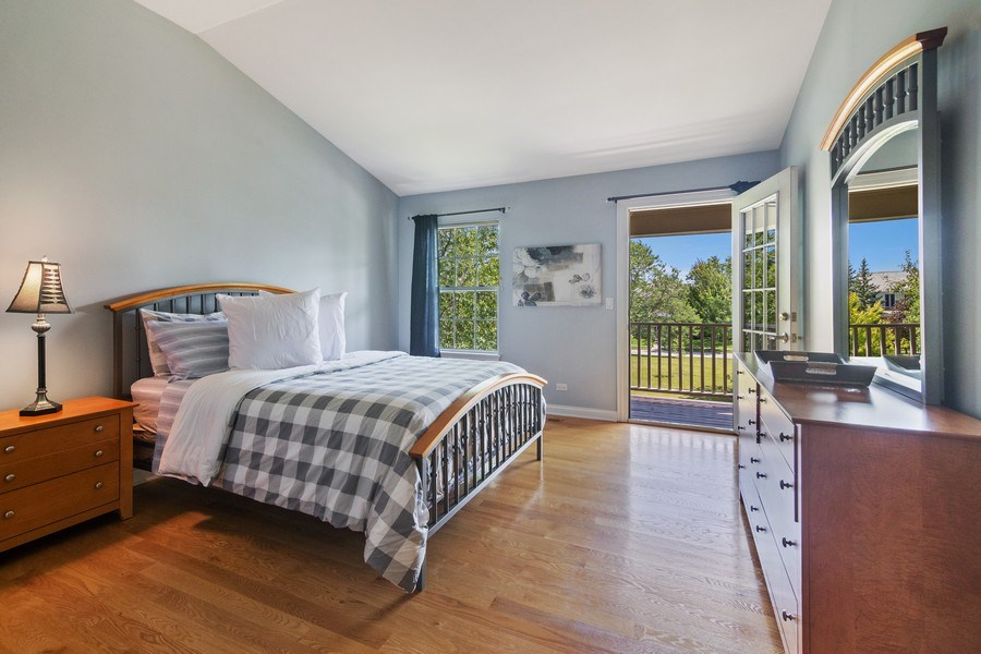 Real Estate Photography - 1588 Independance Ave, Glenview, IL, 60026 - 2nd Bedroom