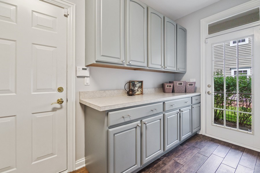 Real Estate Photography - 1588 Independance Ave, Glenview, IL, 60026 - Mudroom