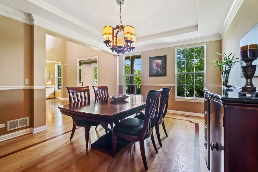 Real Estate Photography - 1588 Independance Ave, Glenview, IL, 60026 - Dining Room