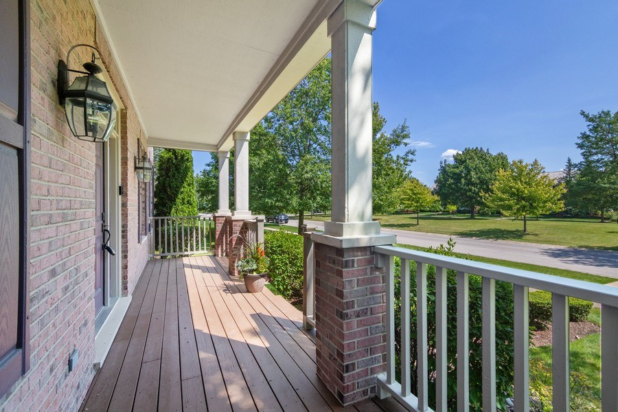 Real Estate Photography - 1588 Independance Ave, Glenview, IL, 60026 - Front Porch