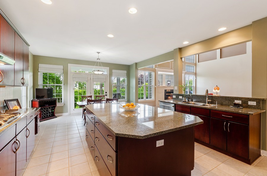 Real Estate Photography - 1588 Independance Ave, Glenview, IL, 60026 - Kitchen