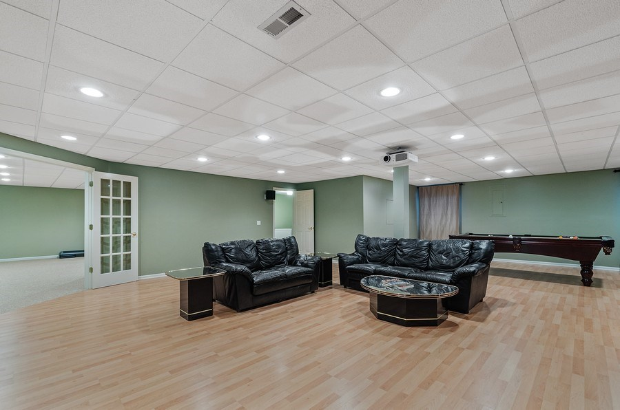 Real Estate Photography - 1588 Independance Ave, Glenview, IL, 60026 - Recreation / Media Room (Home Theater)