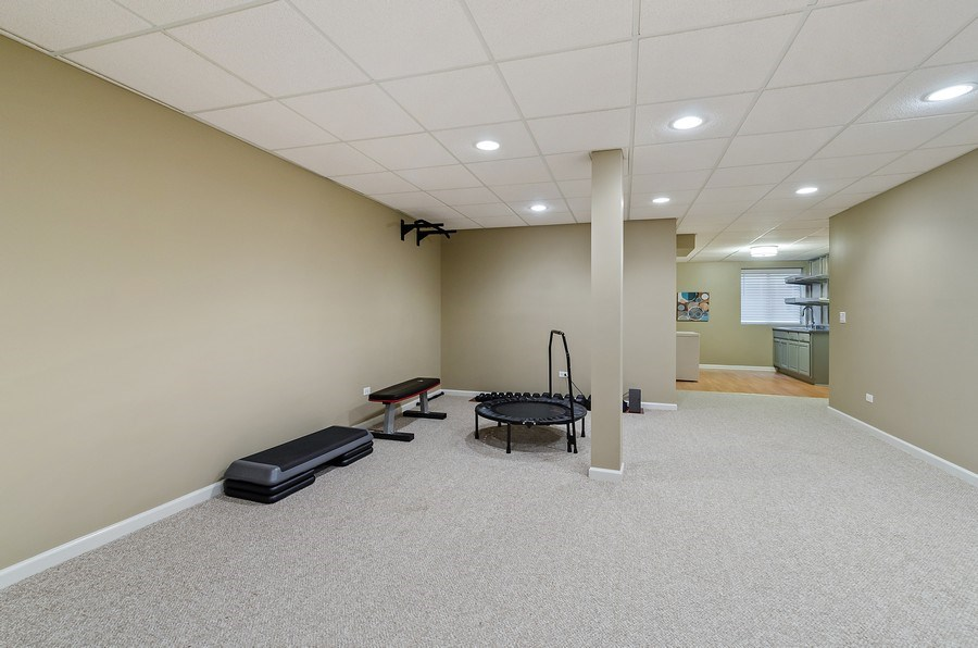 Real Estate Photography - 1588 Independance Ave, Glenview, IL, 60026 - Home Gym / Fitness