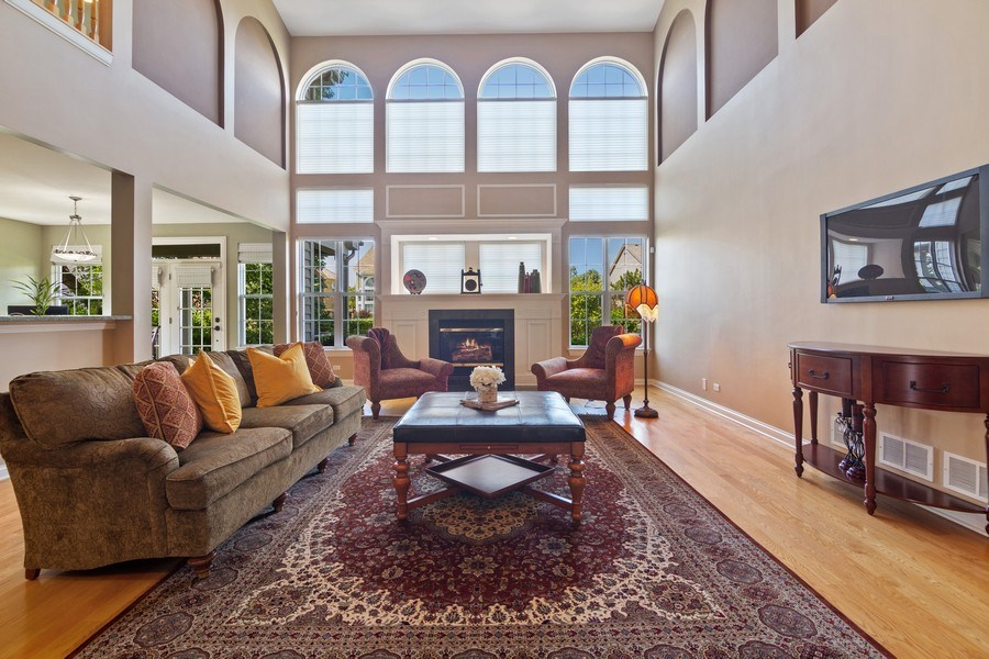 Real Estate Photography - 1588 Independance Ave, Glenview, IL, 60026 - Family Room