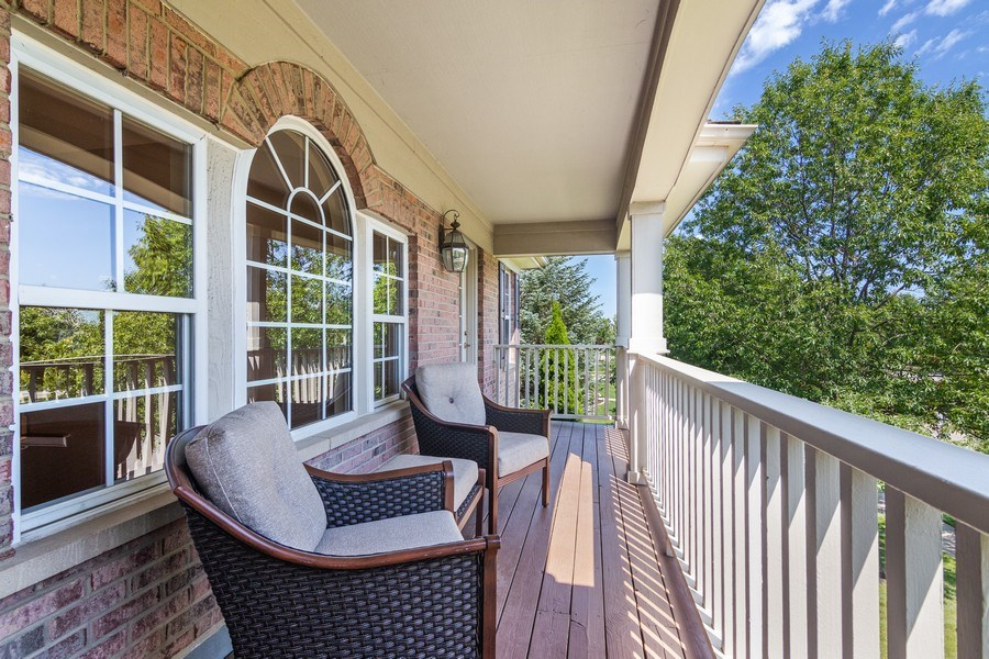 Real Estate Photography - 1588 Independance Ave, Glenview, IL, 60026 - Balcony