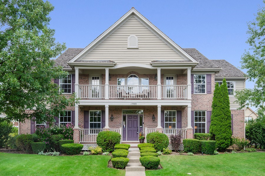 Real Estate Photography - 1588 Independance Ave, Glenview, IL, 60026 - Front View