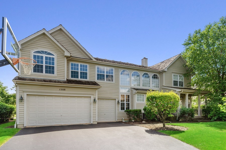 Real Estate Photography - 1588 Independance Ave, Glenview, IL, 60026 - Rear View