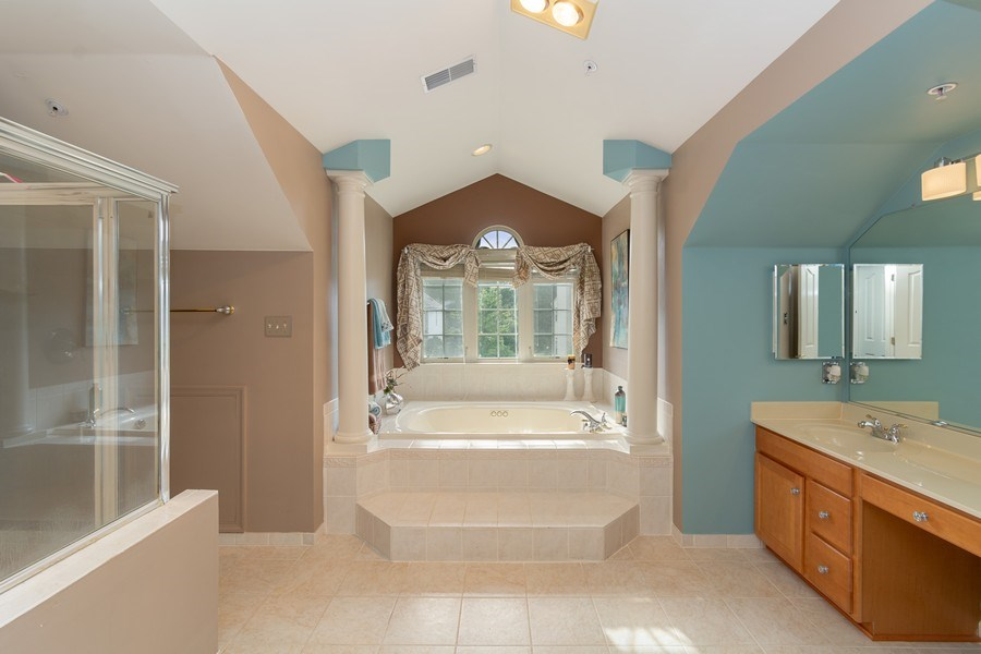 Real Estate Photography - 6602 Manton Way, Lanham, MD, 20706 - Master Bathroom