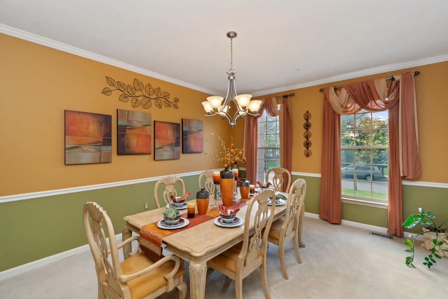 Real Estate Photography - 6602 Manton Way, Lanham, MD, 20706 - Dining Room