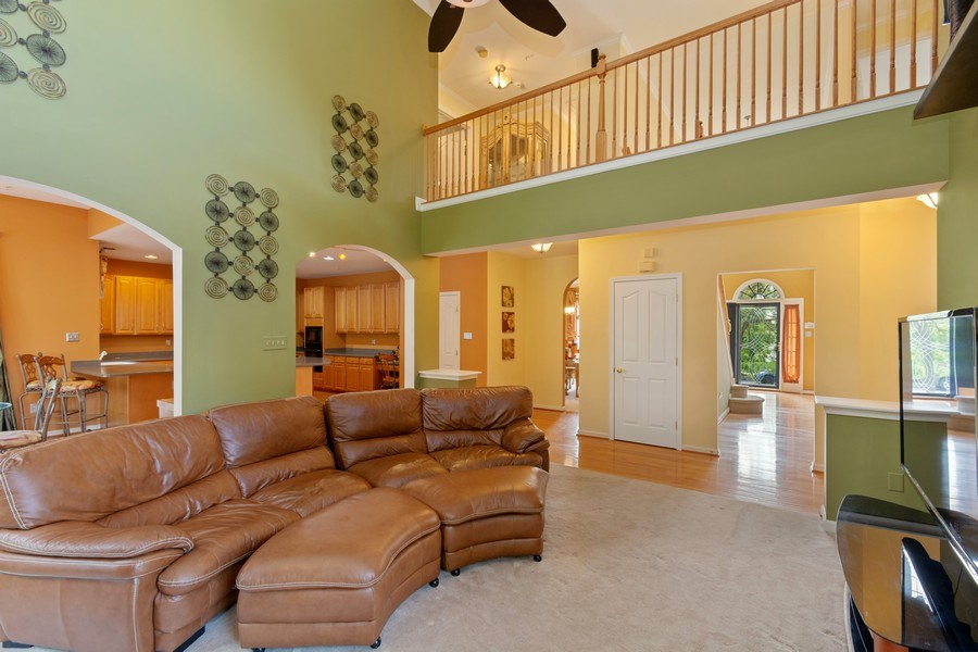 Real Estate Photography - 6602 Manton Way, Lanham, MD, 20706 - Family Room