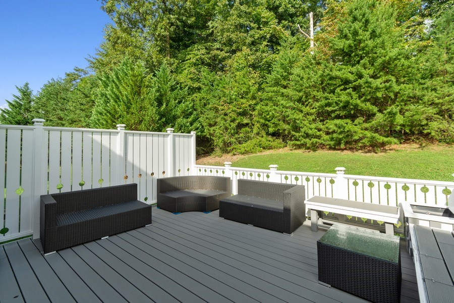 Real Estate Photography - 6602 Manton Way, Lanham, MD, 20706 - Deck