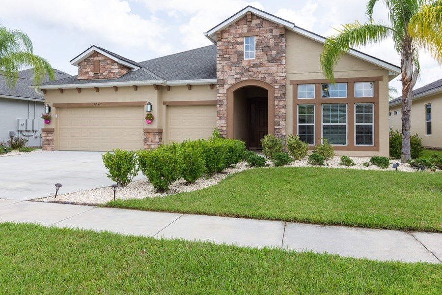 Real Estate Photography - 6867 Forkmead Lane, Port Orange, FL, 32128 - Front View