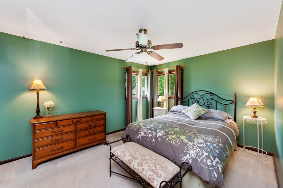 Real Estate Photography - 543 Norman Dr, Cary, IL, 60013 - Master Bedroom
