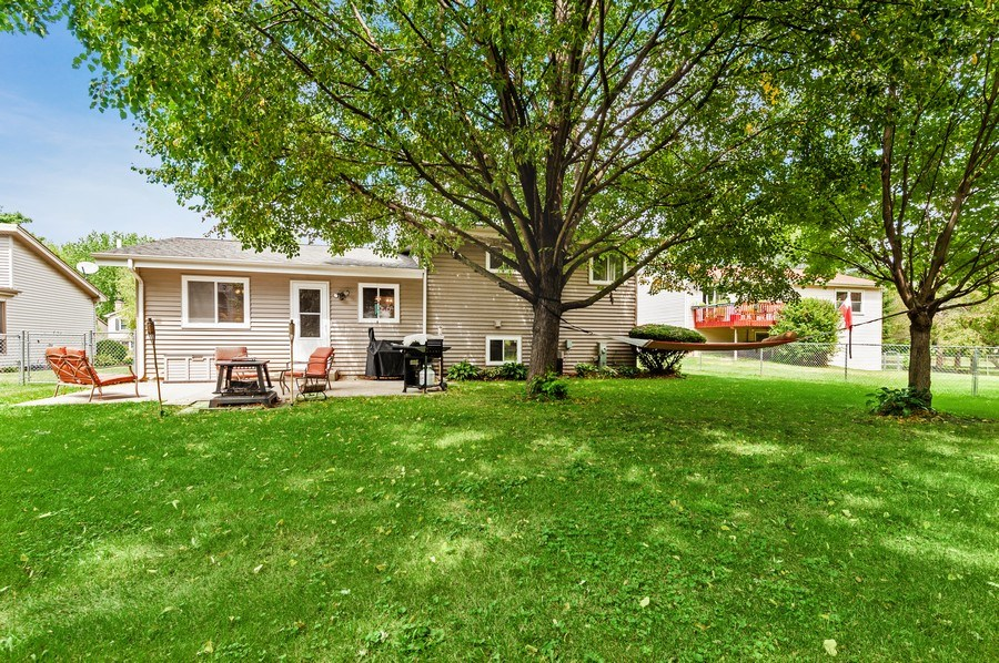 Real Estate Photography - 543 Norman Dr, Cary, IL, 60013 - Rear View