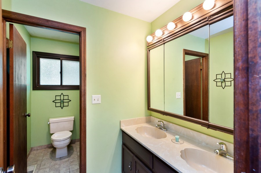 Real Estate Photography - 543 Norman Dr, Cary, IL, 60013 - Main bathroom