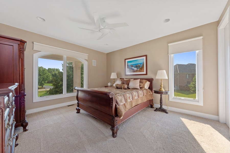 Real Estate Photography - 4576 Pamela Ct., Long Grove, IL, 60047 - Guest Bedroom