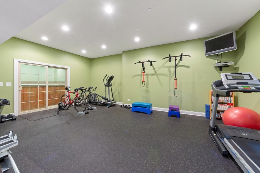 Real Estate Photography - 4576 Pamela Ct., Long Grove, IL, 60047 - Exercise Room