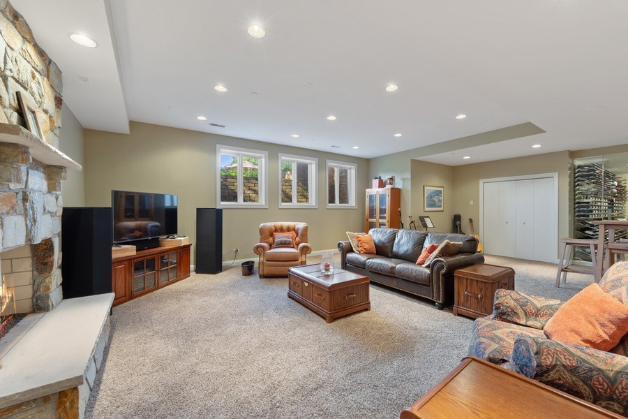 Real Estate Photography - 4576 Pamela Ct., Long Grove, IL, 60047 - Recreational Room