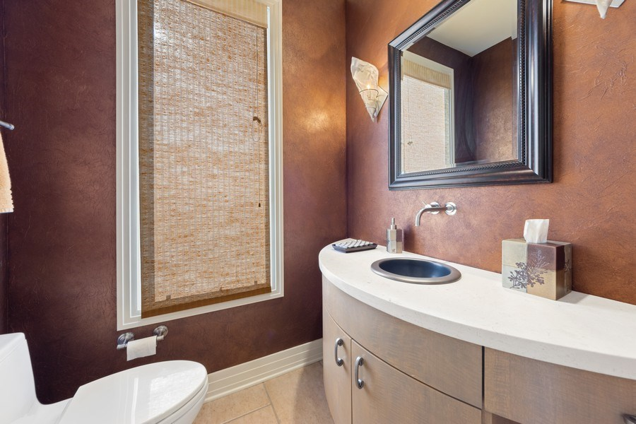 Real Estate Photography - 4576 Pamela Ct., Long Grove, IL, 60047 - Powder Room