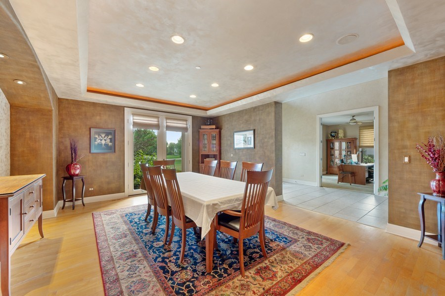Real Estate Photography - 4576 Pamela Ct., Long Grove, IL, 60047 - Dining Room