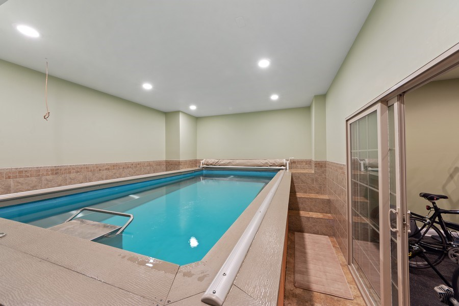 Real Estate Photography - 4576 Pamela Ct., Long Grove, IL, 60047 - Indoor Pool