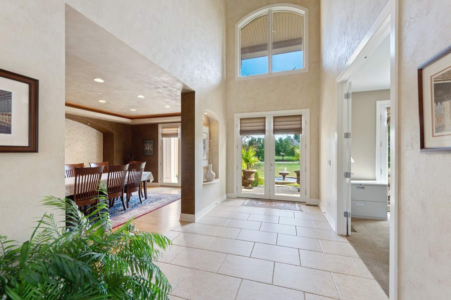 Real Estate Photography - 4576 Pamela Ct., Long Grove, IL, 60047 - Foyer