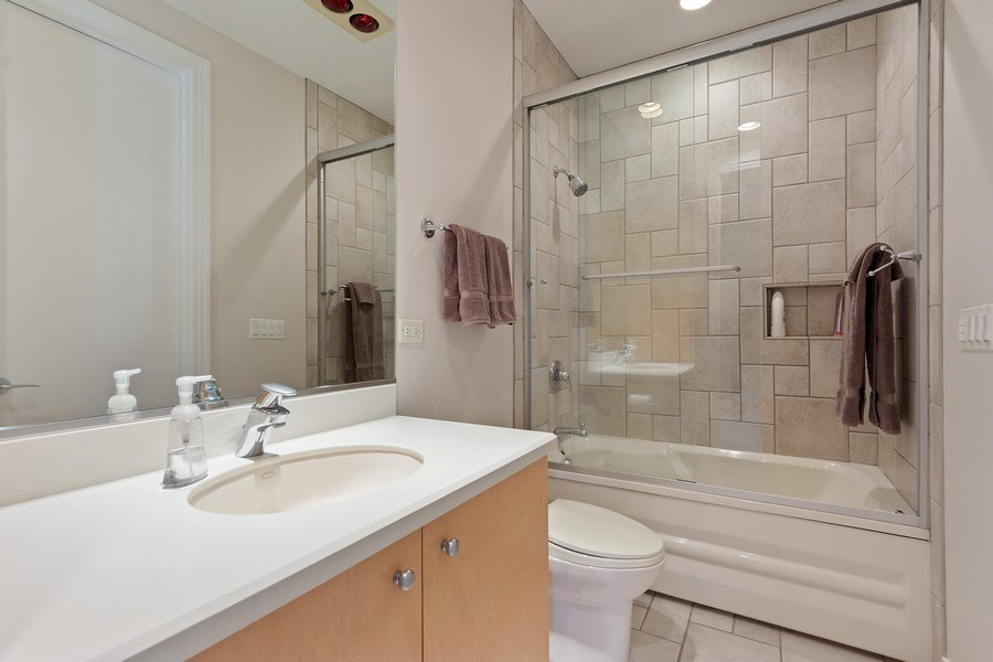 Real Estate Photography - 4576 Pamela Ct., Long Grove, IL, 60047 - 2nd Bathroom