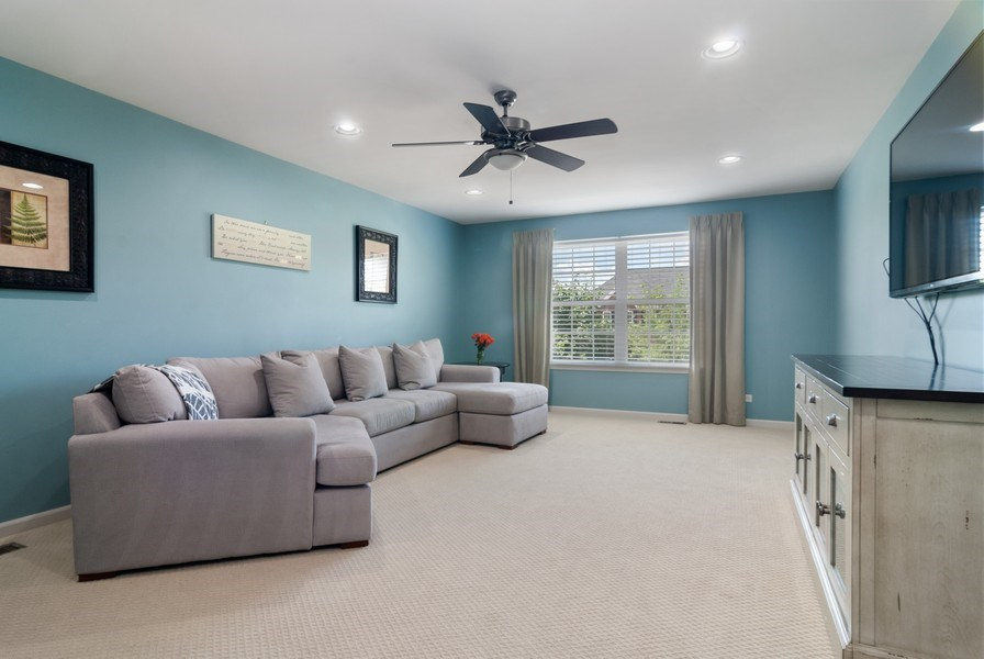 Real Estate Photography - 1225 Verona Ridge Drive, Aurora, IL, 60506 - Bonus Room