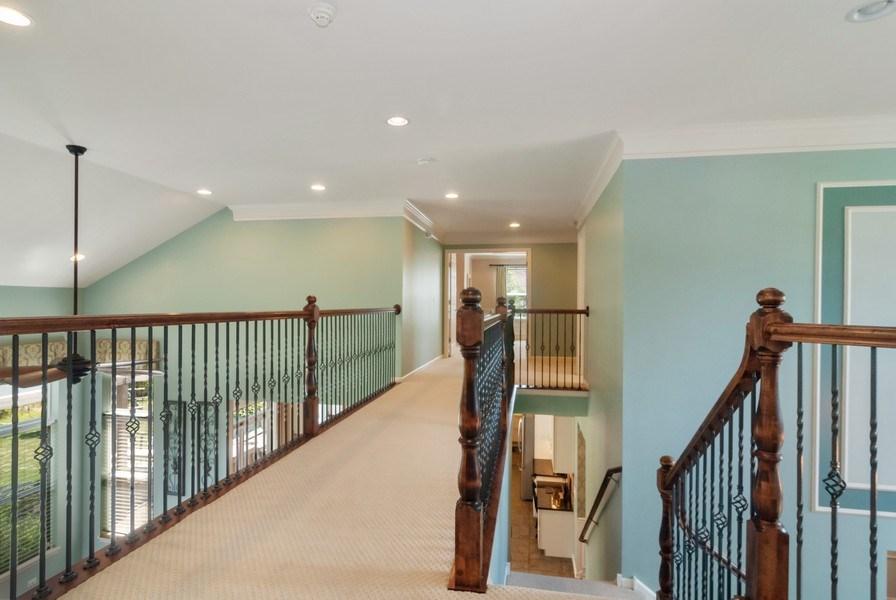 Real Estate Photography - 1225 Verona Ridge Drive, Aurora, IL, 60506 - 2nd Floor Corridor