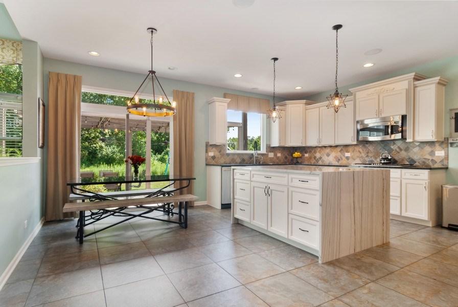 Real Estate Photography - 1225 Verona Ridge Drive, Aurora, IL, 60506 - Kitchen