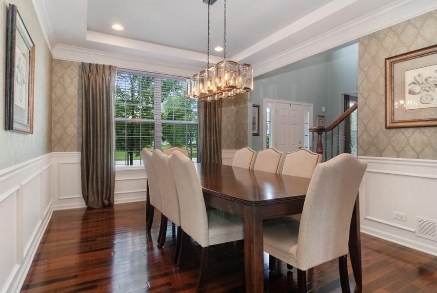 Real Estate Photography - 1225 Verona Ridge Drive, Aurora, IL, 60506 - Dining Room