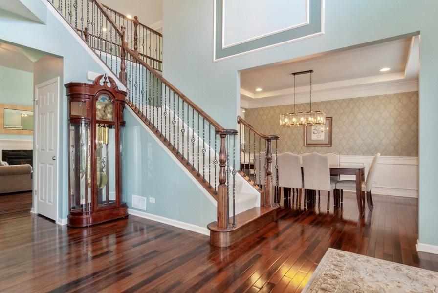 Real Estate Photography - 1225 Verona Ridge Drive, Aurora, IL, 60506 - Foyer