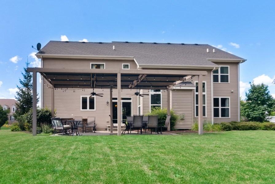Real Estate Photography - 1225 Verona Ridge Drive, Aurora, IL, 60506 - Rear View