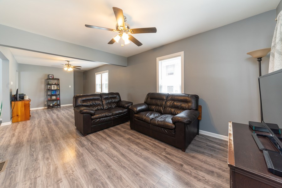 Real Estate Photography - 1139 Superior St, Aurora, IL, 60505 - Living Rm/Family Rm