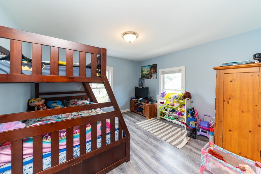 Real Estate Photography - 1139 Superior St, Aurora, IL, 60505 - 2nd Bedroom
