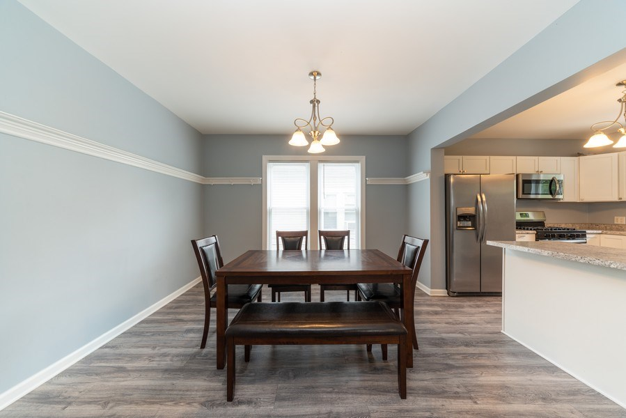 Real Estate Photography - 1139 Superior St, Aurora, IL, 60505 - Dining Room