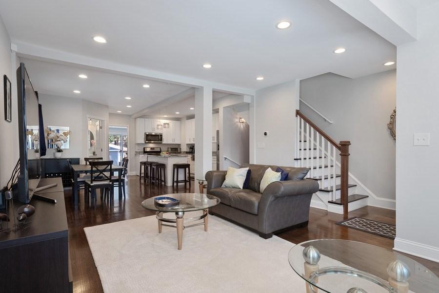 Real Estate Photography - 1226 Elmwood Ave, Berwyn, IL, 60402 - Living Room