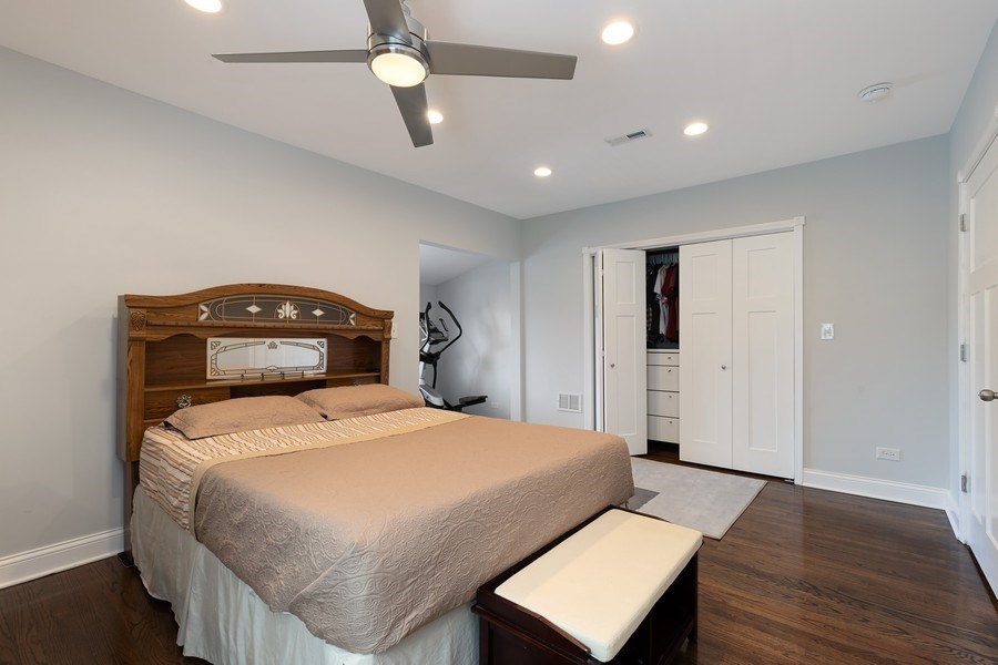 Real Estate Photography - 1226 Elmwood Ave, Berwyn, IL, 60402 - Master Bedroom