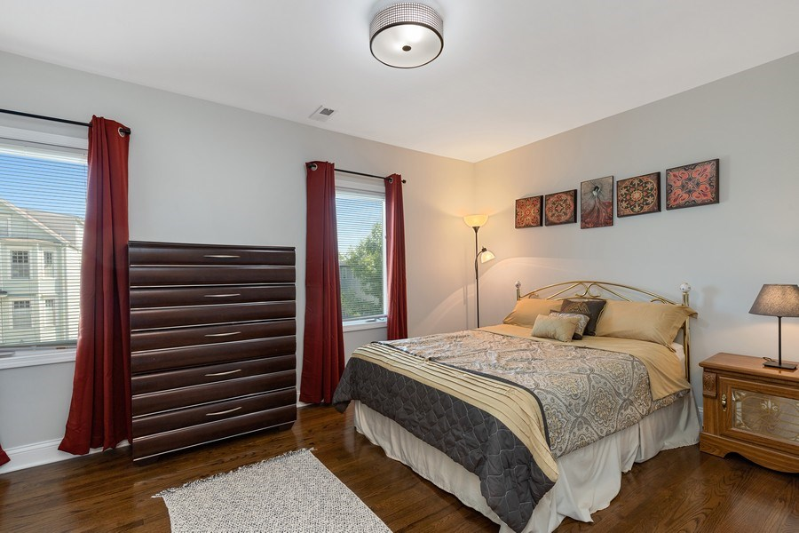 Real Estate Photography - 1226 Elmwood Ave, Berwyn, IL, 60402 - Bedroom