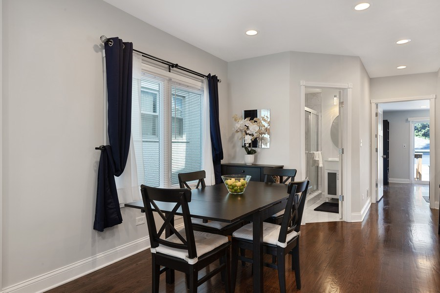 Real Estate Photography - 1226 Elmwood Ave, Berwyn, IL, 60402 - Dining Room